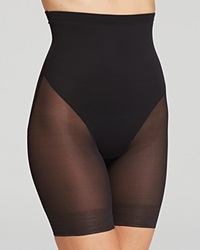 Tc Fine Shapewear Tc Fine Intimates Shorts Sheer High Waist Thigh Slimmer 4229 Black