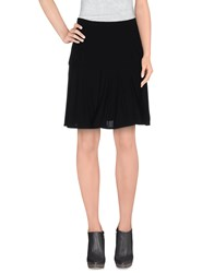 Balenciaga Skirts Knee Length Skirts Women Black
