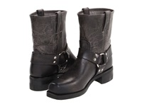 Frye Harness 8R Charcoal Old Town Men's Pull On Boots Bronze