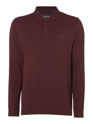 Criminal Men's Sb Jules Pique Polo Shirt Claret