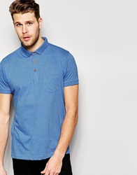 Brave Soul Polo Shirt Blue