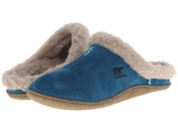 Sorel Nakiska Slide Siberia Women's Slippers Blue