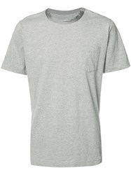 Sacai Short Sleeved T Shirt Grey