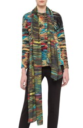 Women's Akris Punto 'Northern Lights' Print Modal And Silk Scarf