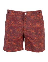 Danward Swim Trunks Red