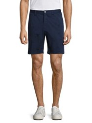 Vilebrequin Basic Embroidered Shorts White Navy