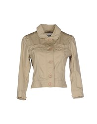 313 Tre Uno Tre Coats And Jackets Jackets Women Khaki