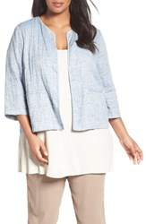 Eileen Fisher Plus Size Women's Gauze Quilted Jacket