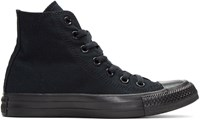 Converse Black Classic Chuck Taylor All Star Ox High Top Sneakers