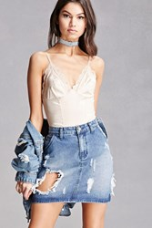 Forever 21 Pixie And Diamond Denim Skirt