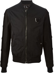 Philipp Plein Bomber Jacket Black