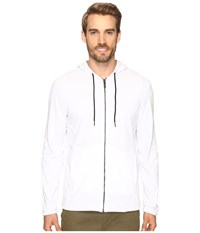 Kenneth Cole Reversible Hoodie White Men's Sweater