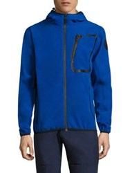 North Sails Raymond Contrast Trimmed Hoodie Bright Blue