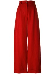 Societe Anonyme Summer Brunch Pants Red