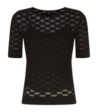 Escada Susil Knitted Top Female Black