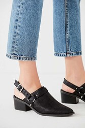 Urban Outfitters Velma Harness Mule Black