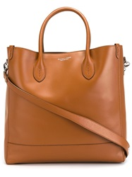 Ralph Lauren Classic Shopper Tote Brown