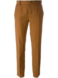 N 21 No21 Straight Trousers Brown