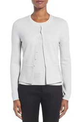 Boss Women's Fadra Texture Knit Wool Blend Cardigan