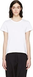 Comme Des Garcons Girl White Backless T Shirt