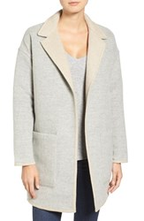 James Perse Women's Reversible Alpaca Blend Coat