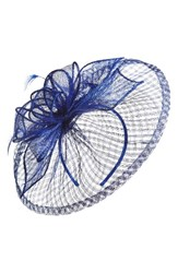 Nordstrom Sinamay Fascinator Headband Blue