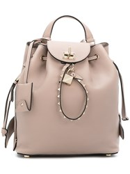 Valentino Garavani Backpack Nude And Neutrals