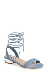 Steve Madden Women's 'Carolyn' Lace Up Sandal 1 1 4 Heel