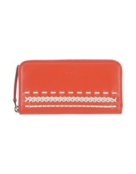 Tod's Wallets Red