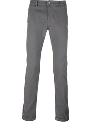 Daniele Alessandrini Slim Fit Chinos Grey