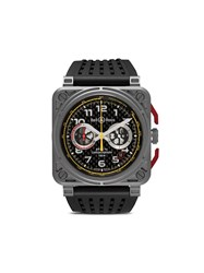 Bell And Ross Br 03 94 R.S.18 42Mm Grey Black Red And Yellow