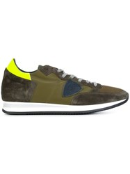 Philippe Model 'Military' Sneakers Green