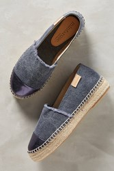 Anthropologie Mint And Rose Amalfi Espadrilles Navy
