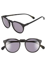 Raen 'Remmy' 49Mm Polarized Sunglasses Matte Black
