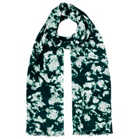 Whistles Smudge Print Scarf Green Multi