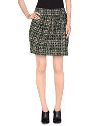 Paul And Joe Sister Mini Skirts Dark Green