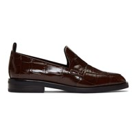 3.1 Phillip Lim Burgundy Alexa Loafers