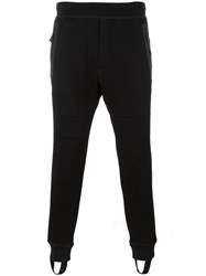 Dsquared2 Paneled Track Pants Black