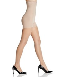 Spanx Luxe Leg High Waisted Sheer Tights 20024R Nude 1
