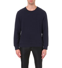Tiger Of Sweden Hubertz Cotton Sweatshirt Navy