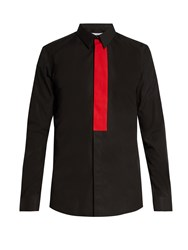 Givenchy Contemporary Fit Single Cuff Shirt Black Multi