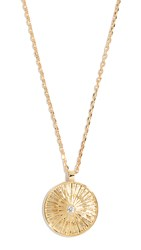 Jules Smith Designs Sol Coin Pendant Necklace Gold