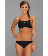 Nike Core Solids Sport 2 Piece Black Women's Swimwear Sets