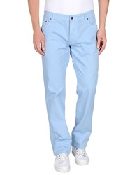 Salvatore Ferragamo Denim Denim Trousers Men Sky Blue