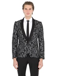 Christian Pellizzari Lurex Jacquard Evening Jacket