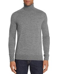 Polo Ralph Lauren Merino Wool Turtleneck Sweater 100 Bloomingdale's Exclusive Speedway Gray