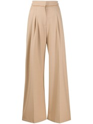Alysi High Waisted Wide Leg Trousers 60
