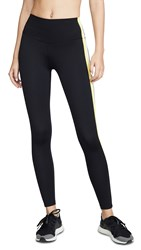 Splits59 Harper High Waist Leggings Black Rugby Multi