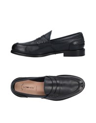 Lo.White Lo. White Loafers Dark Blue