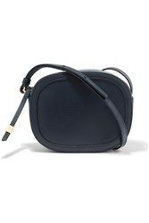 Iris And Ink Leather Shoulder Bag Navy